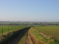 Bridleway Walk From Village