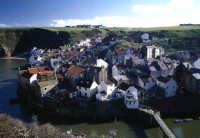 Staithes From Cliff Top
